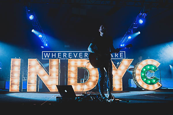 IndyCC is a conference for mid-west college students. This year's theme, Wherever You Are, was focused on the gospel in students lives.